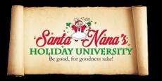 Santa Nana's Holiday University